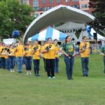 NMU's Marching Band Made a surprise appearance
